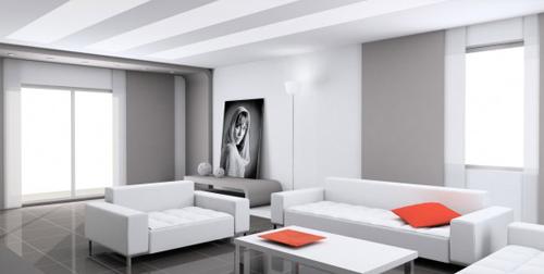 Presupuestos online de pintura y decoraci n for Salones pintados en gris
