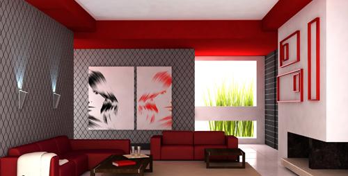 Presupuestos online de pintura y decoraci n - Colores en salones ...